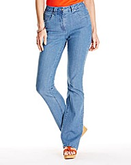 Christie Bootcut Jeans Length 26in