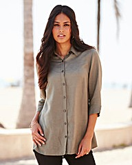 Linen Mix Blouse