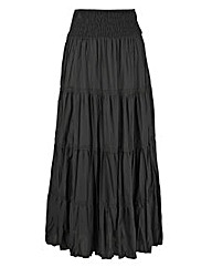 Cotton Maxi Skirt 30in