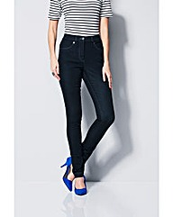 MAGISCULPT Slim Leg Jean Length Short