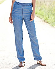 Lyocell Slouch Trouser