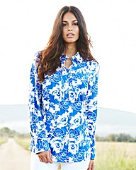 Print Cotton Shirt