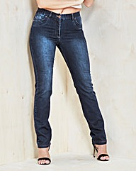 MAGISCULPT Straight-Leg Jeans Reg