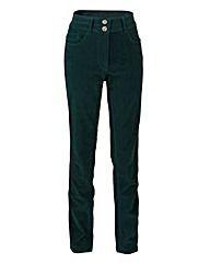 Cord Straight Leg Jean 29in
