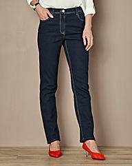 Straight-Leg Jeans Length 29in