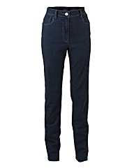 Straight-Leg Jeans Extra Short