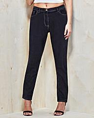Straight-Leg Jeans Long