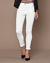 Slim-Leg Jeans Length 27in