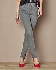 Slim Leg Jeans Length 27in