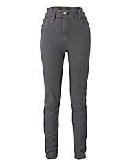 Slim-Leg Jeans Short