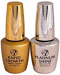 W7 Rapid Growth & Platinum Shine