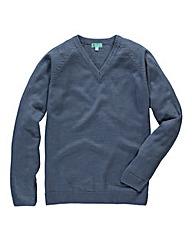 Premier Man V Neck Sweater Long