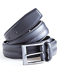 Southbay Leather Stitch Detail Belt