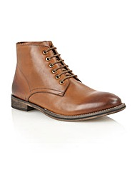Frank Wright Oval lace-up boots
