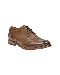 Clarks Exton Brogue Shoes