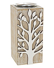 Tree Of Life Tall Tealight Holder