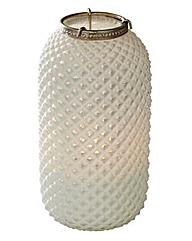 Diamond White Large Lantern