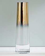 Two Toned Glass Vase