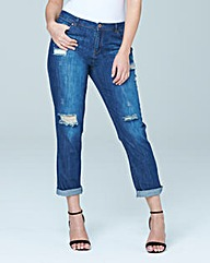 Ashley Distressed Boyfriend Jeans Reg