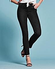 Shape & Sculpt Straight Leg Jeans Reg