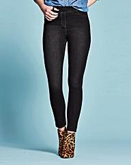 Amber Pull-On Skinny Jeggings Long