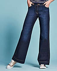 Pixie Wide Leg Jeans Long