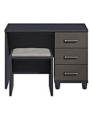 Copenhagen Dressing Table with Stool