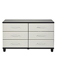 Valencia 6 Drawer Wide Chest