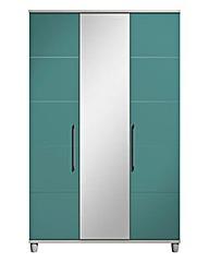 Valencia 3 Door Wardrobe with Mirror