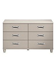 Athens 6 Drawer Wide Chest