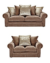 Shimmer 3 Plus 2 Seater Sofa