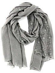 Lace Effect Scarf