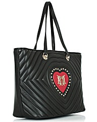 Love Moschino Black Tote Bag