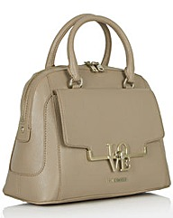 Love Moschino Taupe Dome Tote
