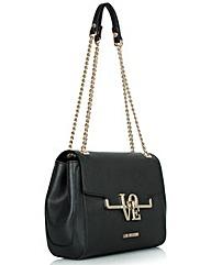 Love Moschino Black Shoulder Bag