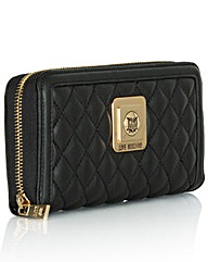 Love Moschino Black Quilted Purse