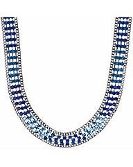 Mood Stone Embellished Collar Necklace