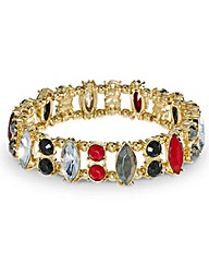 Mood Navette Stone Stretch Bracelet