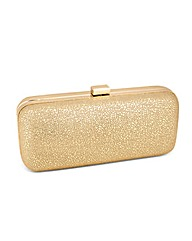 Jon Richard Crackled Fabric Clutch Bag