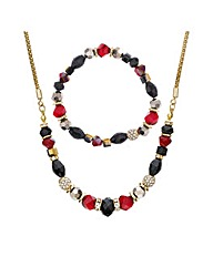 Mood Beaded Stacker Jewellery Set