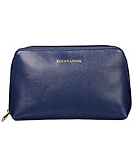 Smith & Canova Zip Top Cosmetic Bag