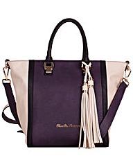 Claudia Canova Twin Strap Tote Style Bag