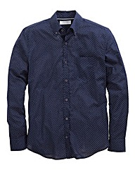 WILLIAMS & BROWN Long Sleeve Spot Shirt