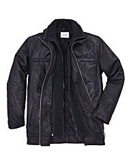 Williams & Brown Leather Coat