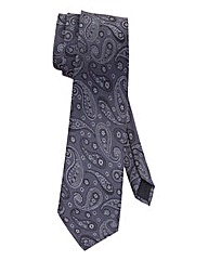 W&B London Paisley Tie
