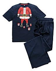 Southbay Knitted Santa Pyjamas