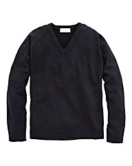 WILLIAMS & BROWN V-Neck Jumper Regular