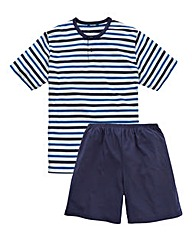 Southbay Striped Top Short-Sleeve PJs