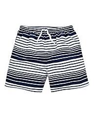 WILLIAMS & BROWN Stripe Swimshorts