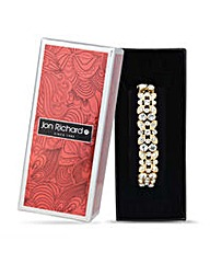 Jon Richard Gold flower stretch bracelet